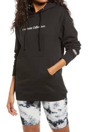 Petals and Peacocks Celebrate Love Graphic Hoodie