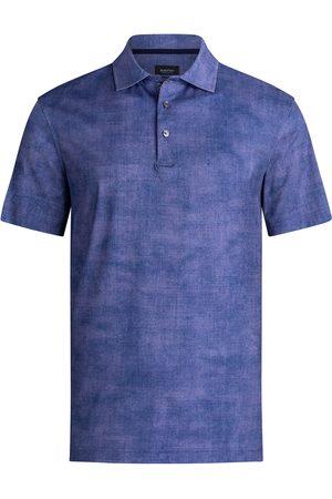 Bugatchi Men's Ooohcotton Tech Short Sleeve Polo Shirt
