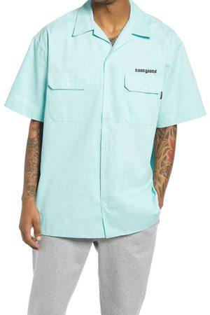 NOON GOONS Men's Shop Short Sleeve Button-Up Camp Shirt