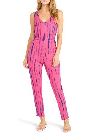 BB Women's Tie Dye Sleeveless Jumpsuit