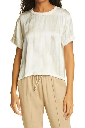 ATM Anthony Thomas Melillo Women's Silk Charmeuse T-Shirt