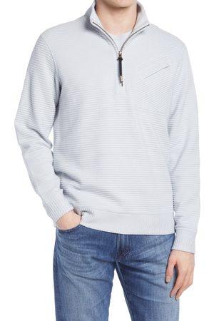 BILLY REID Men's Double Knit Half-Zip Pullover