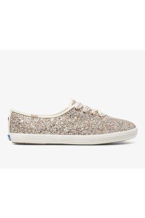 Keds X kate spade new york Champion Glitter Rose Multi, Size 6m Women's Shoes