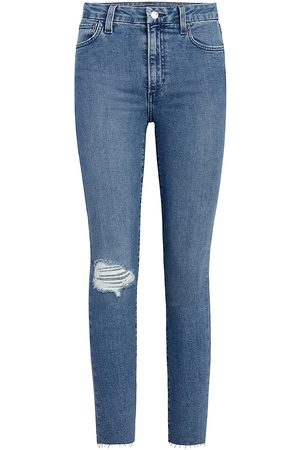 Joes Jeans Women's The Hi Honey Distressed Skinny Jeans - Allure - Size 28