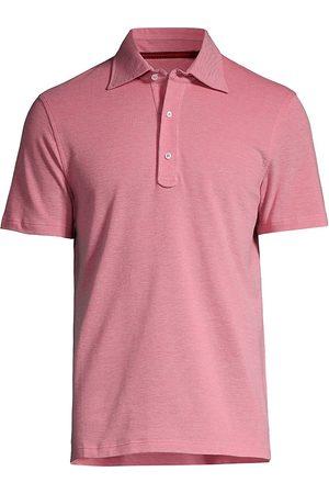 ISAIA Men's Short-Sleeve Cotton Polo - Bright - Size XXL