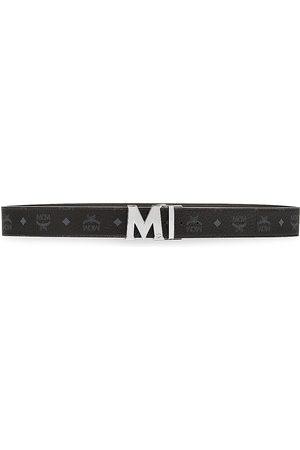 MCM Men's Claus Reversible Cut-To-Size Logo Belt