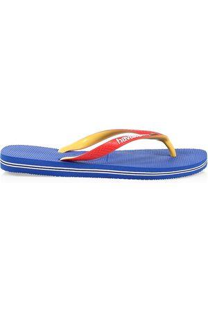 Havaianas Men's Brazil Mix Flip Flops - Star - Size 11