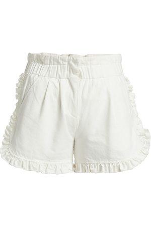 SEA Women's Ruffle Trim Shorts - - Size 14