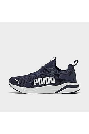 PUMA Boys' Little Kids' Rift Slip-On Casual Shoes Size 1.0 Knit