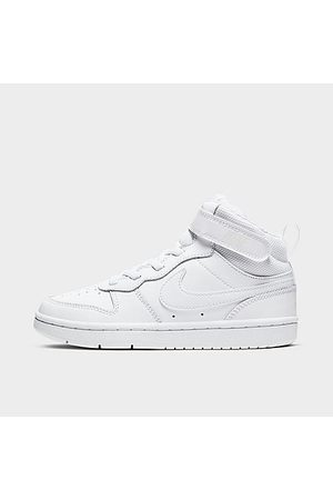 Nike Boys' Little Kids' Court Borough Mid 2 Casual Shoes in /