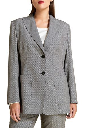 Persona by Marina Rinaldi Women's Virgin Wool-Blend Tailored Jacket - - Size 22