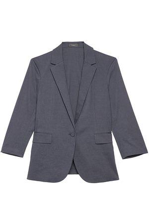 THEORY Women Blazers - Women's Casual Eco Blazer - Concord - Size 14