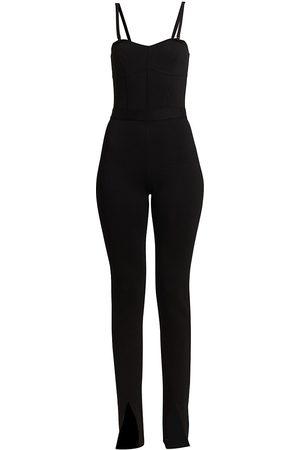 Hervé Léger Women Socks - Women's Corseted Jumpsuit - - Size Small