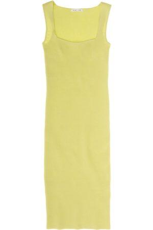 Helmut Lang Women's Sleeveless Contour Midi Dress - Electric - Size Small