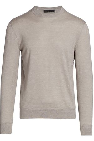 Ermenegildo Zegna Women's Crewneck Sweater - Tan - Size 40