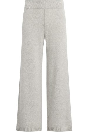 Leset Women Wide Leg Pants - Women's Zoe Wide-Leg Pants - Dune Pearl - Size Large