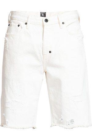 PRPS Men's Newcomb Slim-Fit Denim Shorts - - Size 31