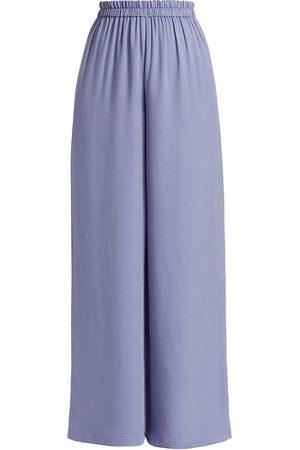 Halston Heritage Women's Zuri Pull-On Pants - Lavender - Size Small