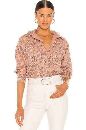Overlover Holloway Top in Blush.
