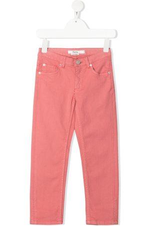 BONPOINT Girls Slim - Mid-rise slim-fit jeans