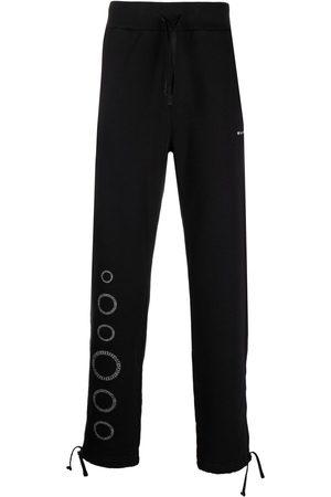 1017 ALYX 9SM Men Sweatpants - Circle leg-print trousers