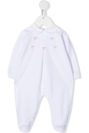 SIOLA Bodysuits & All-In-Ones - Box-pleat embroidered babygrow