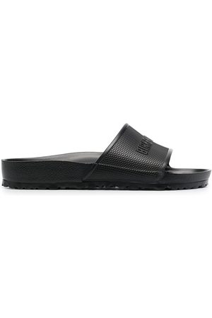 Birkenstock Men Sandals - Barbados EVA logo-embossed sliders