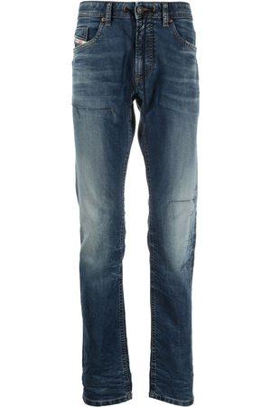 Diesel Thommer mid-rise straight-leg jeans