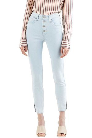 Levi's 721 Exposed Buttons Ankle 24 Fresh Breeze