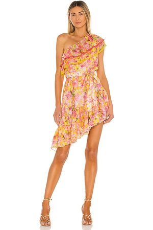 ROCOCO SAND Nesh Mini Dress in Pink, .