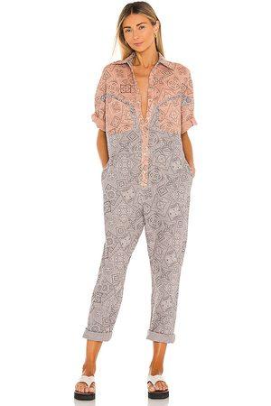 Overlover Lolina Jumpsuit in Grey.