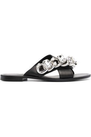 Philipp Plein Chunky chain detail sandals