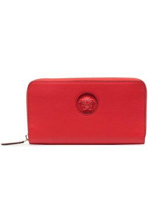 VERSACE Women Wallets - Medusa Head zip-around wallet