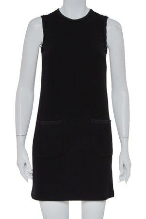Dolce & Gabbana Crepe Sleeveless Shift Dress S