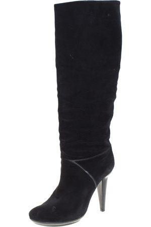 Bottega Veneta Women Thigh High Boots - Suede Knee High Boots Size 38.5