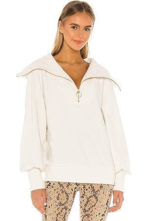 Varley Vine Sweatshirt in Ivory.