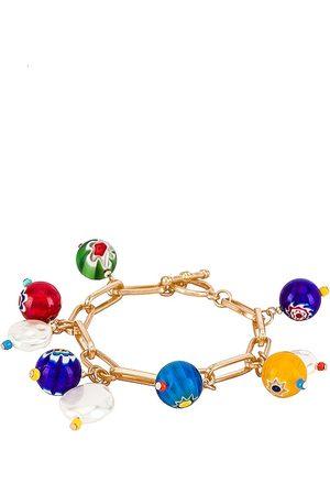 8 Other Reasons Women Bracelets - Charm Bracelet in Metallic .