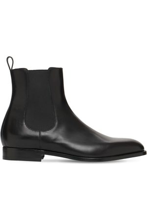 Manolo Blahnik Men Chelsea Boots - Delsea Leather Chelsea Boots
