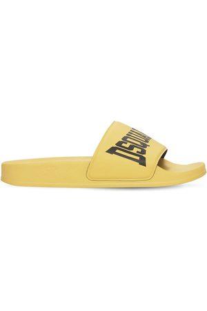 Dsquared2 Rubber Slide Sandals