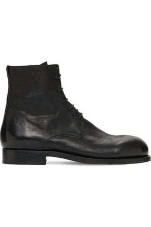 The Last Conspiracy Leather Lace-up Boots