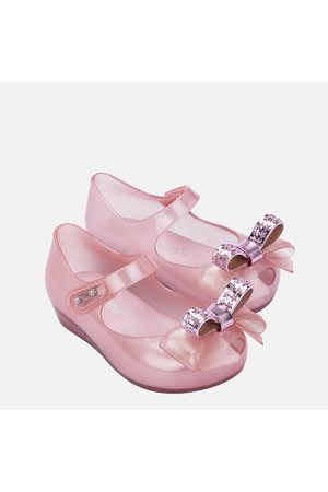 Mini Melissa Toddlers' Mini Ultragirl Stars Ballet Flats