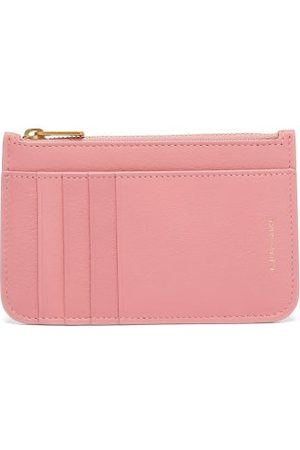 Mansur Gavriel Women Purses - Zipped Grained-leather Cardholder - Womens
