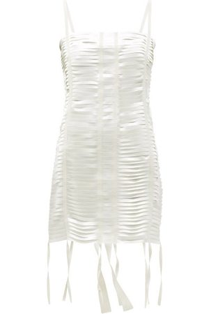 Givenchy Women Party Dresses - Cutout Satin Mini Dress - Womens