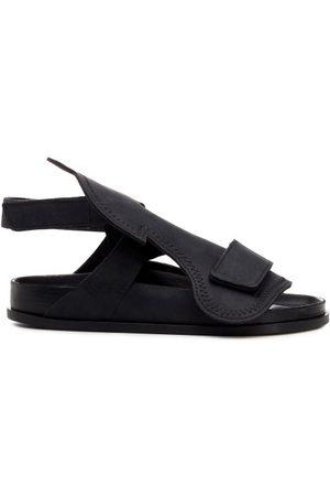 Birkenstock X CSM Men Sandals - Bukarest Oiled-leather Sandals - Mens