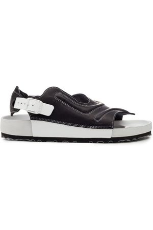 Birkenstock X CSM Men Sandals - Terra Leather Slingback Sandals - Mens