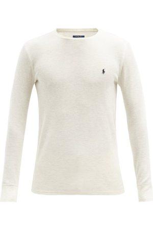 Polo Ralph Lauren Men Pajamas - Logo-embroidered Cotton-blend Pyjama Top - Mens