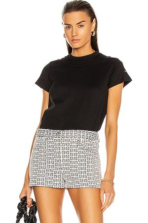 Givenchy Fitted Short Sleeve T Shirt in