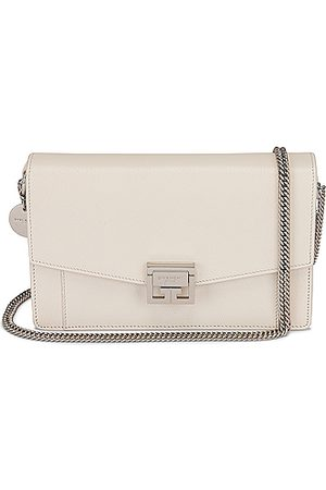 Givenchy GV3 Wallet on Chain in Ivory
