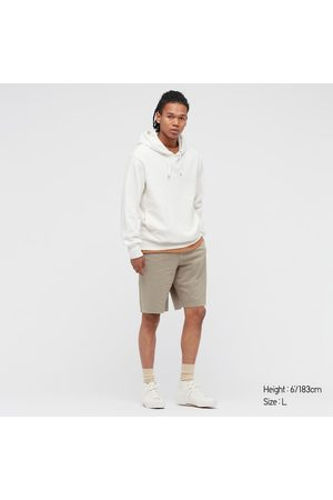 UNIQLO Men Shorts - Men's Washed Jersey Easy Shorts, , S