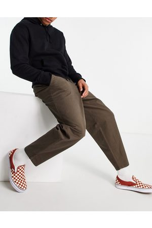 ASOS Oversized tapered chino pants in